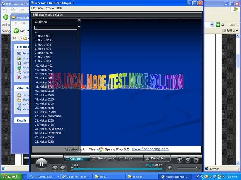 NEW! BB5 Testmode & Local mode solution in exe Localmodeofbb5