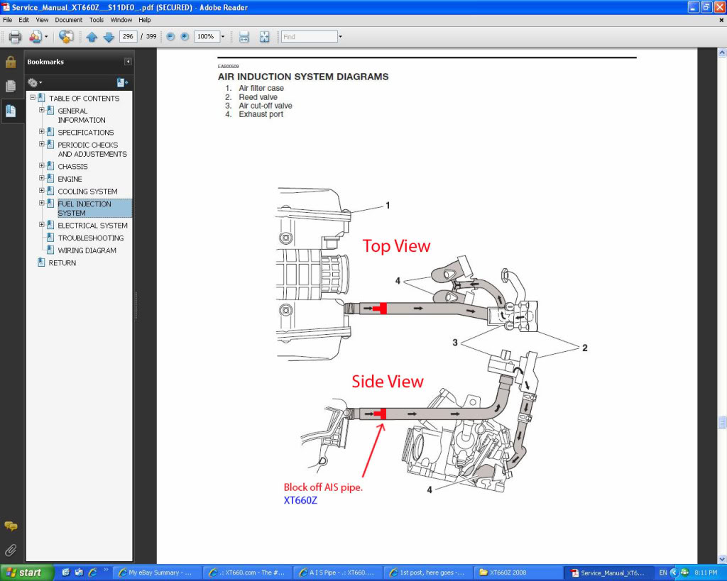 Yamaha Xt660z Tenere Wiring Diagram Xt 600 Xtz660 Page 2 And Schematics Owner S Manual Handbook
