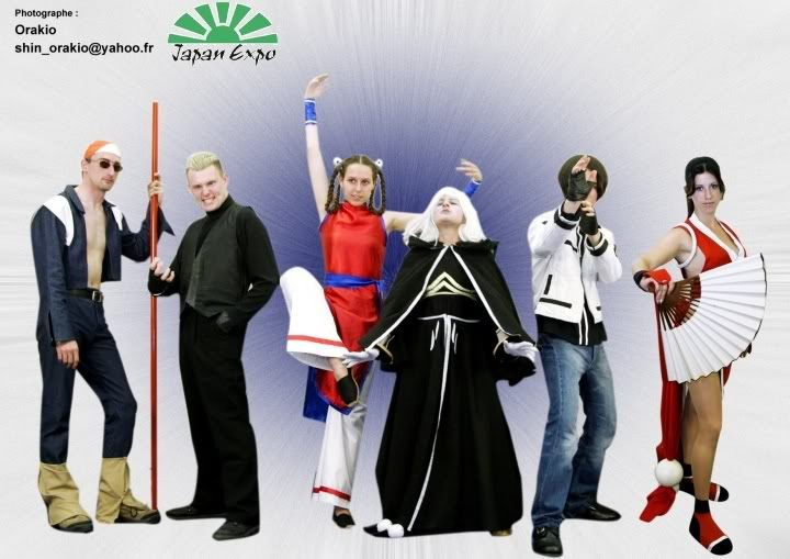 Cosplay Groupe202120-20King20of20Fighters