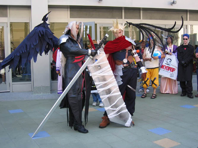 Cosplay Sephrioth-Cloud