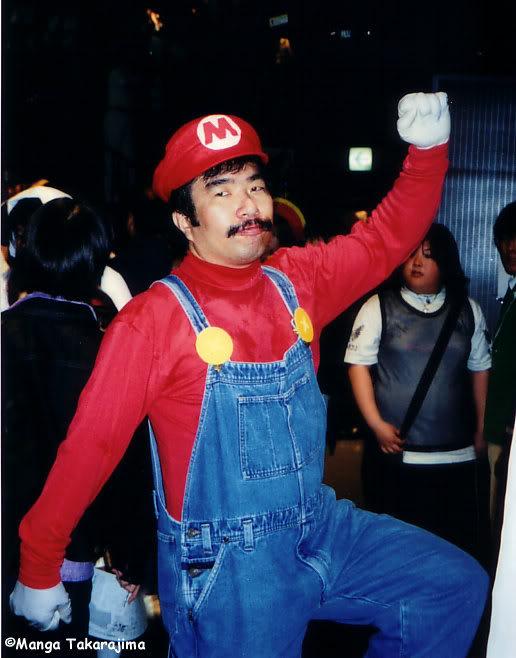 Cosplay Mario-1