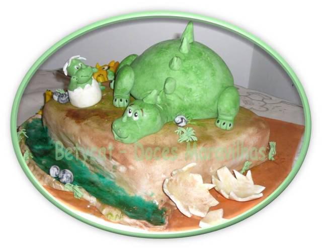 Cake Design - Doces Maravilhas da Bety - Página 2 Dinossauros3betycat