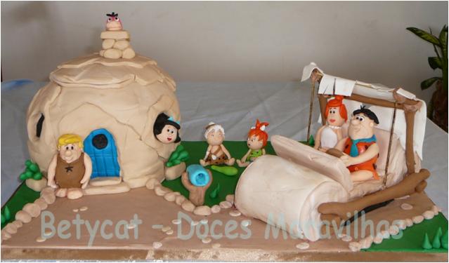 Cake Design - Doces Maravilhas da Bety - Página 3 MeettheFlinstones