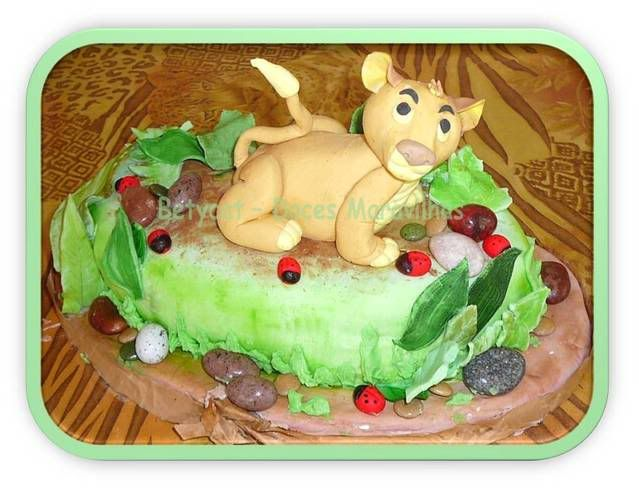 Cake Design - Doces Maravilhas da Bety BetycatSimba