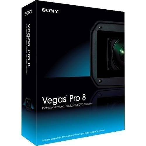 Sony Vegas 8 Editor de Videos Vegas8