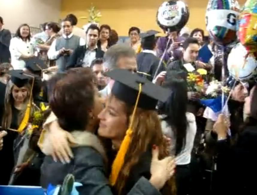 Graduacion de Jolette Abrazomama