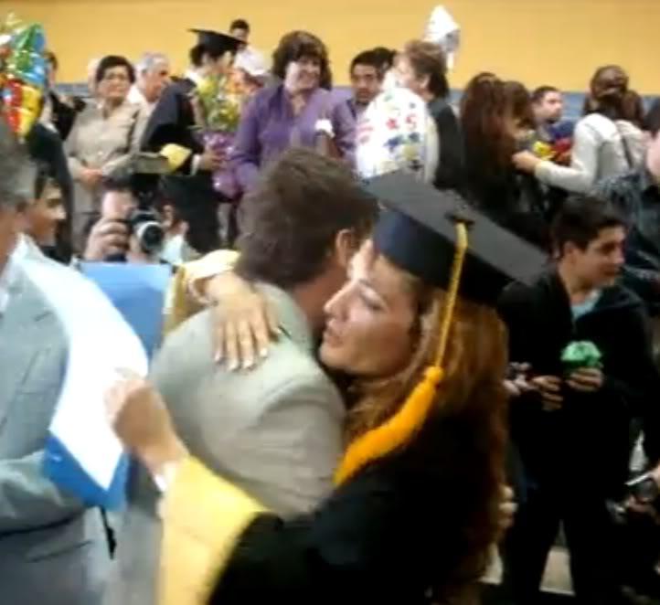 Graduacion de Jolette Hermano