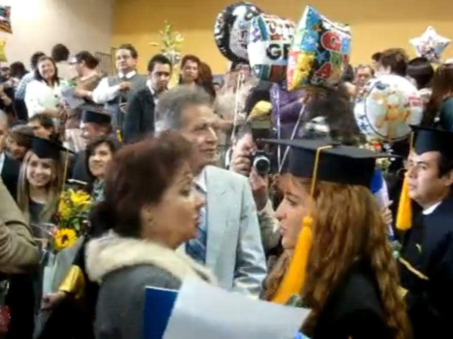 Graduacion de Jolette Mamajole