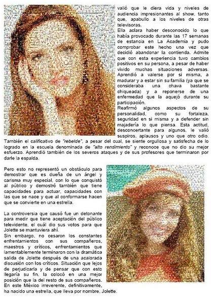 Jolette® : Su Biografìa Bio3