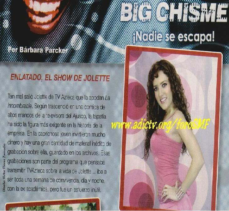 ¡ Jolette en Portadas de  Revistas! - Página 4 Led21