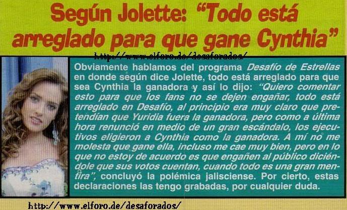 ¡ Jolette en Portadas de  Revistas! - Página 4 Led99