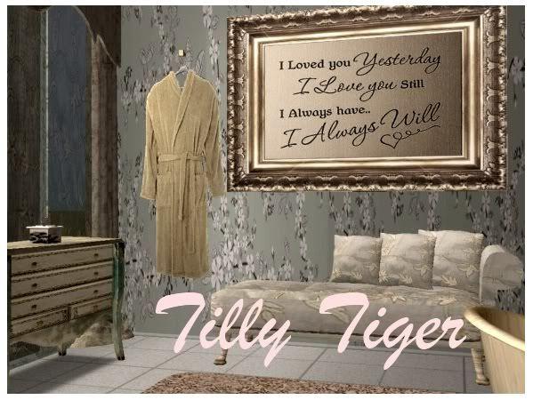 Tilly Tiger updates Ilovedyoutt