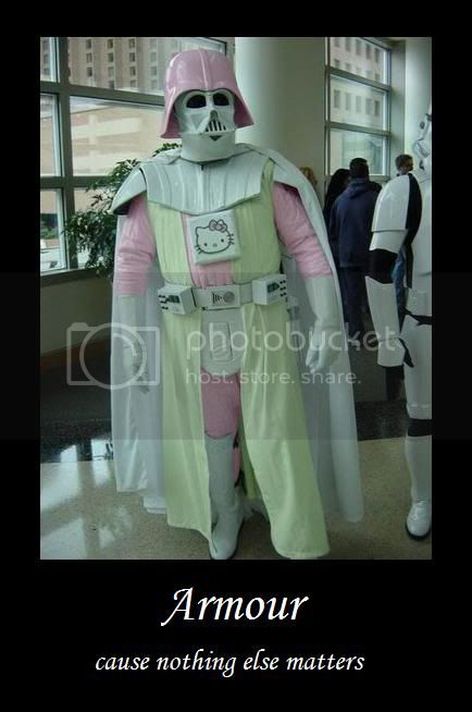 Welcome to the anything but area! PinkyVader