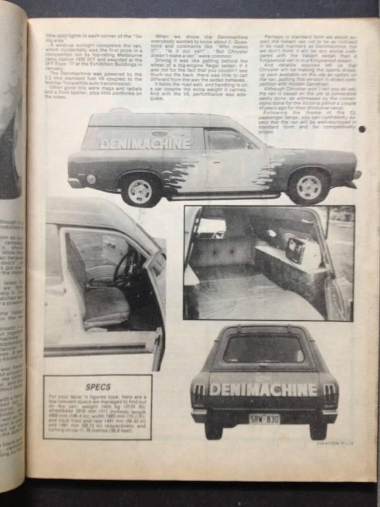 Van Action Magazine - Information Required. 031