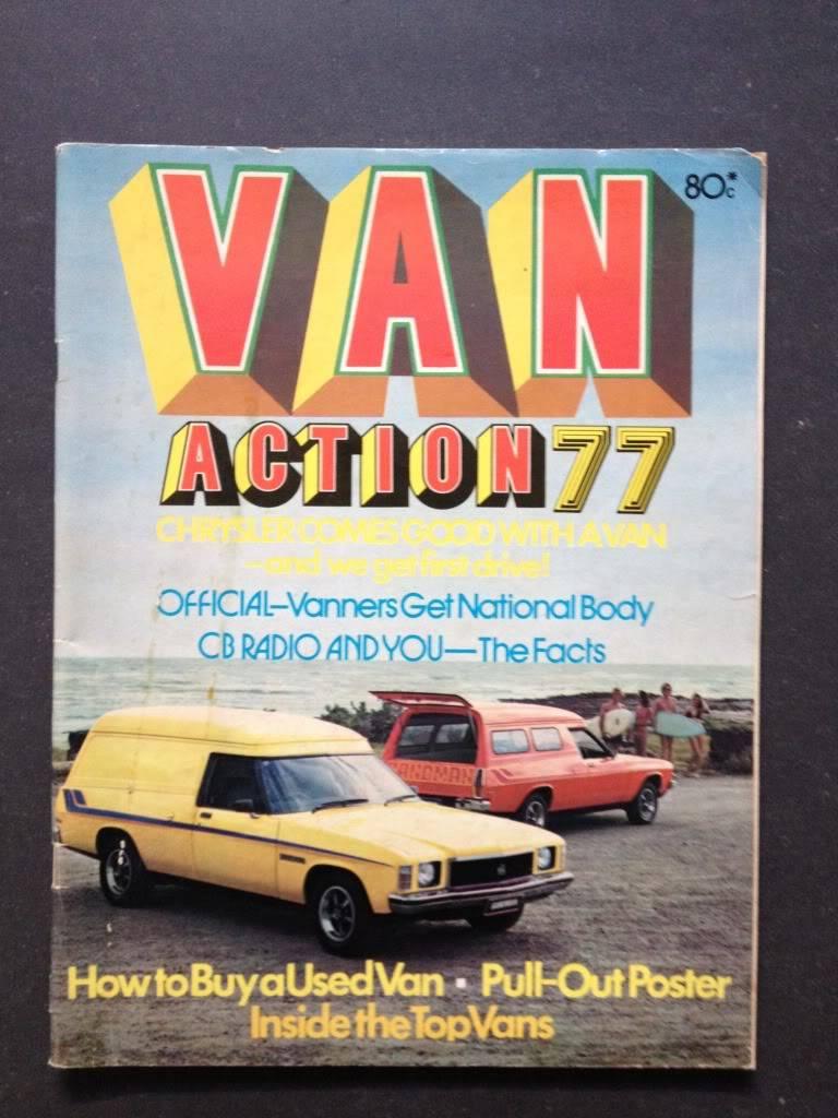 Van Action Magazine - Information Required. VanAction77Cover