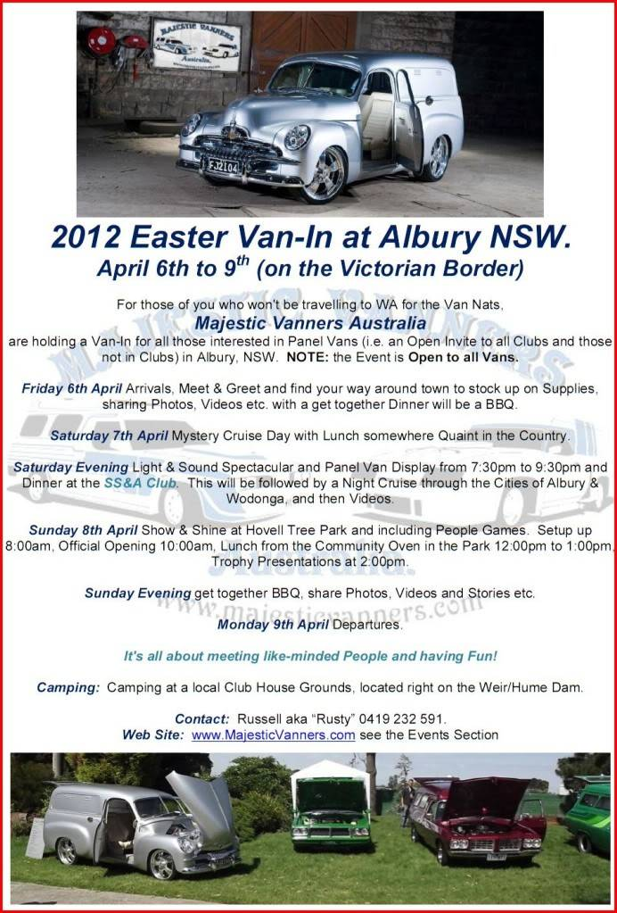 Albury: Eastern States Van-In, Easter 2012 - Open Invite to All. - Page 4 2012EasterVan-InFlyer3