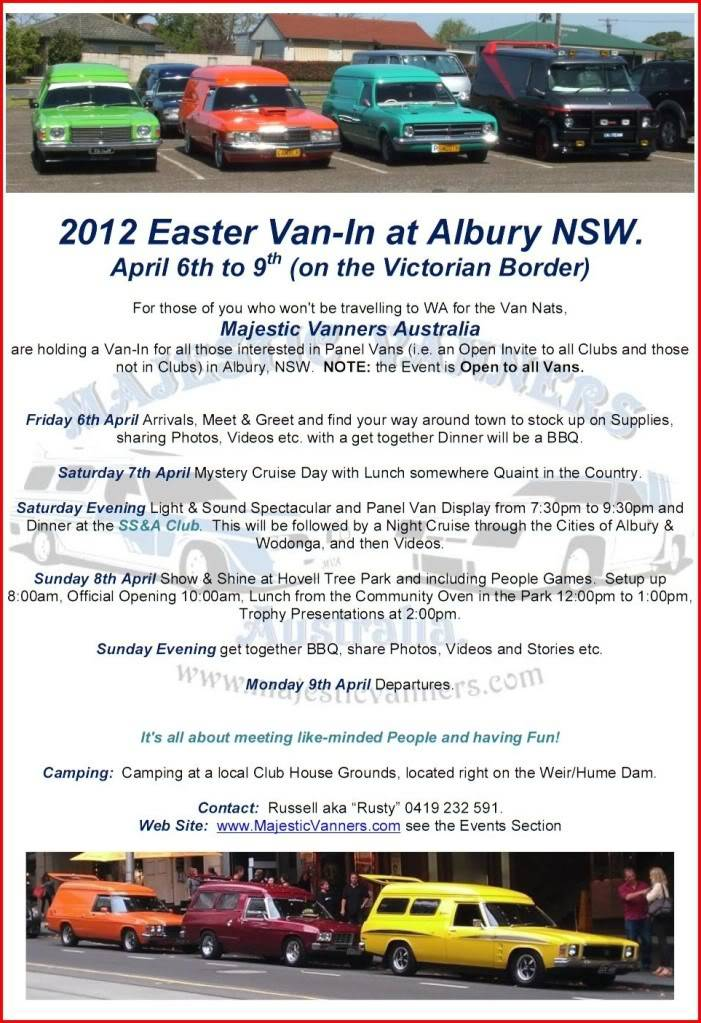 Albury: Eastern States Van-In, Easter 2012 - Open Invite to All. - Page 4 2012EasterVan-InFlyer4
