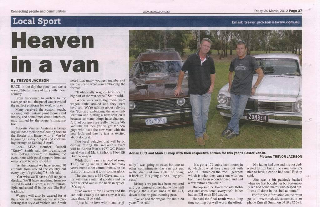 Albury: Eastern States Van-In, Easter 2012 - Open Invite to All. - Page 7 HeaveninaVan5MB