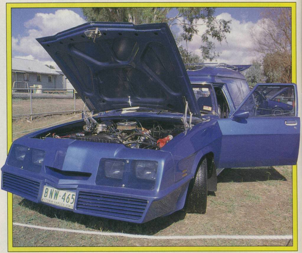 How Many Different TransAm Fronts were there on Aussie Vans/Cars? HotIce0001