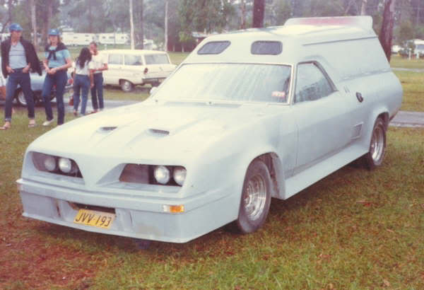 How Many Different TransAm Fronts were there on Aussie Vans/Cars? Xbweird