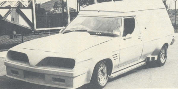 How Many Different TransAm Fronts were there on Aussie Vans/Cars? P