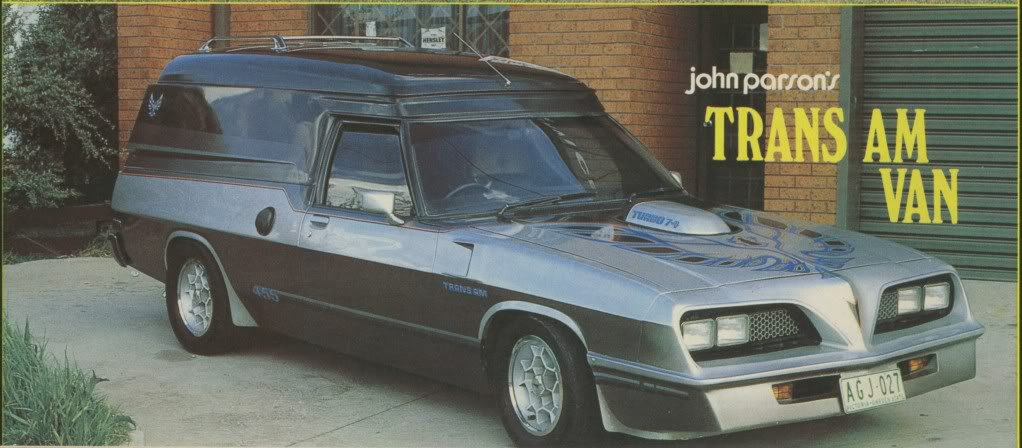 How Many Different TransAm Fronts were there on Aussie Vans/Cars? CVT18P20-Copy