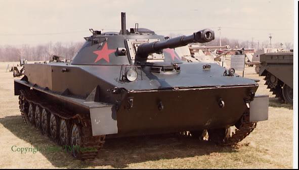 Khả năng Quân Sự Nước Nhà PT-76-4