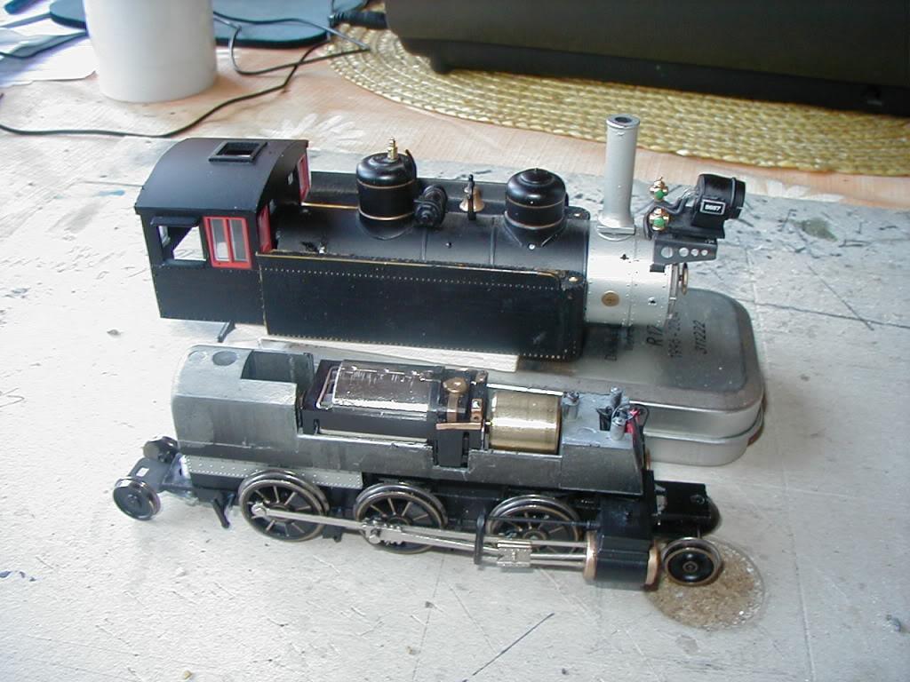 Umbau einer 0n30  Bachmann 2-6-0 Mogul....  P1010001