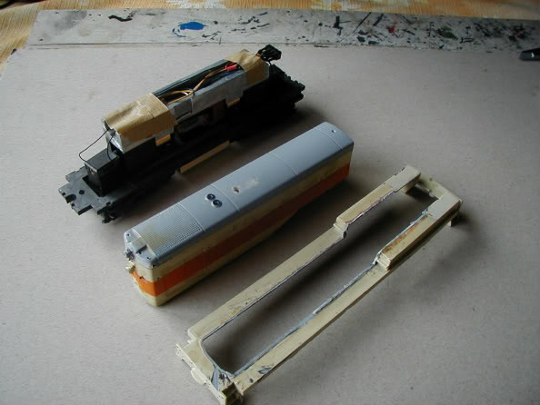 ... Umbau einer H0 Baldwin Switcher von Walters Modell..... P1010004