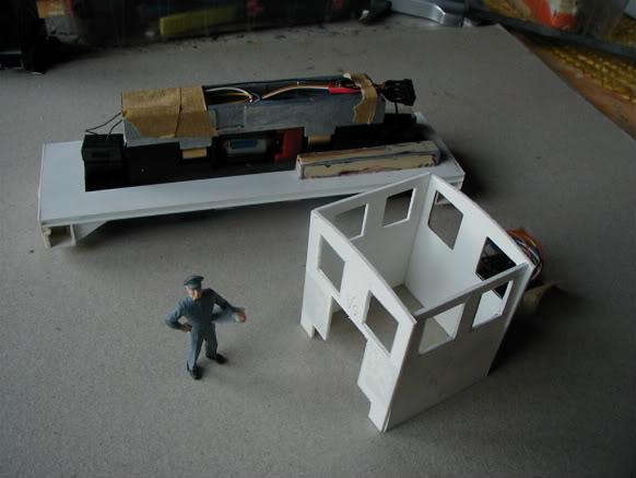 ... Umbau einer H0 Baldwin Switcher von Walters Modell..... P1010009