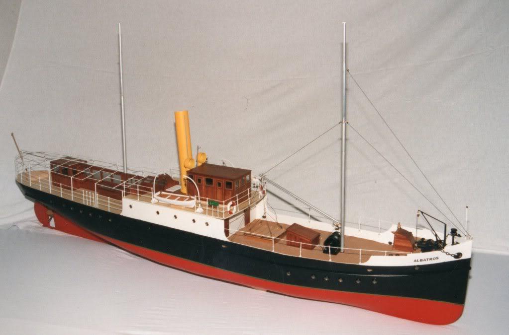 """Hafenschlepper """"Hamburg II"""" - Totalrenovierung/Umbau eines robbe-Veteranen - Seite 3 Albatros002"""