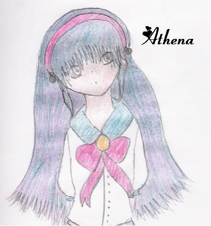 fan-art de Dejiko Lawliet AthenaFanart