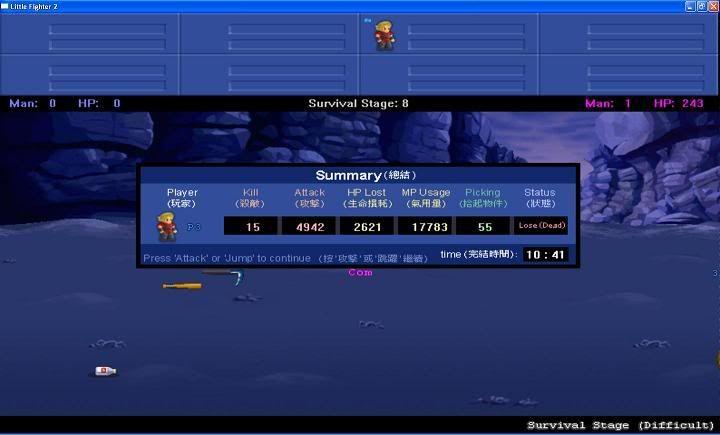 Survival Stage Progress in LF2 NewBitmapImage2-1