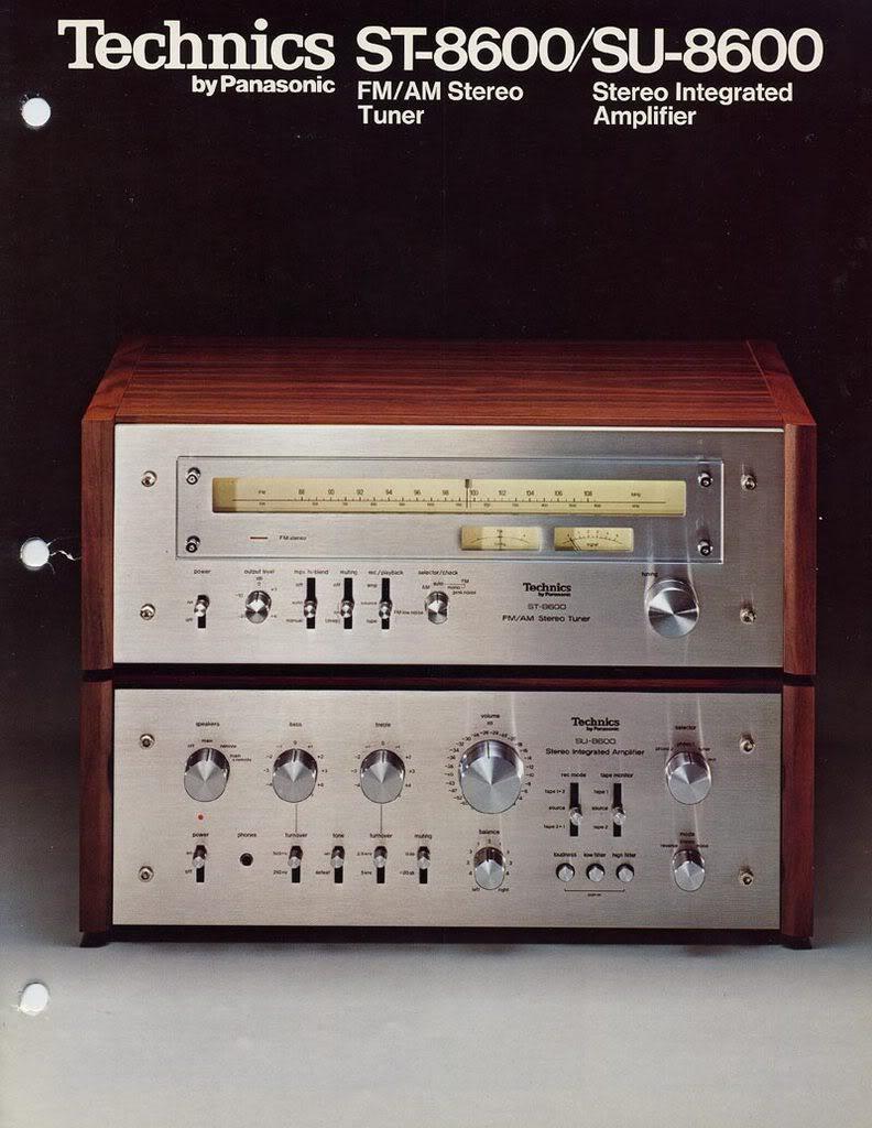 ¿Cual es vuestro amplificador vintage favorito? - Página 2 TechnicsST-8600