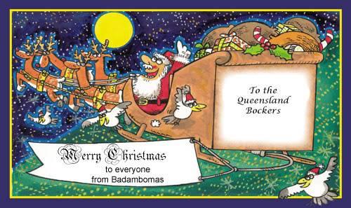 Merry Christmas Queensland Bockers!!! Christmas