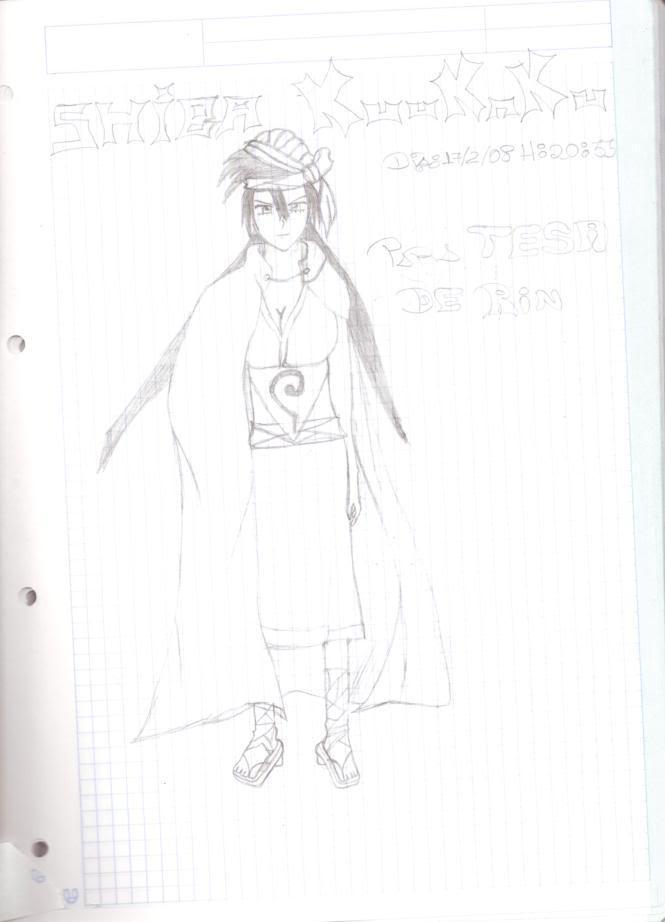 ~~Fan Arts Anime Rin~~ Dibujo