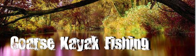 Coarse Kayak Fishing web site. Ckf-1