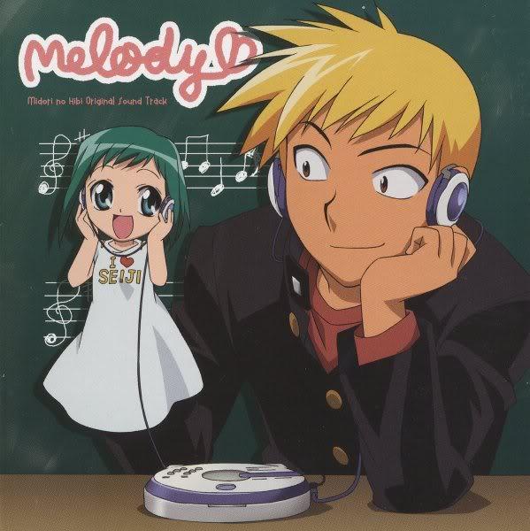 Midori no Hibi OST [ba] Booklet1