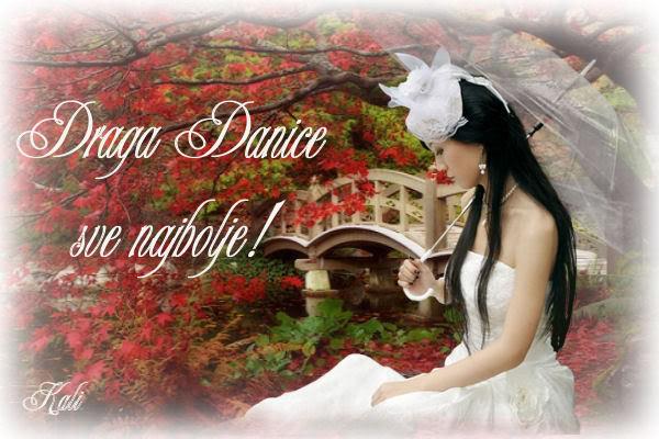Danice srecan ti rodjendanko! Danica