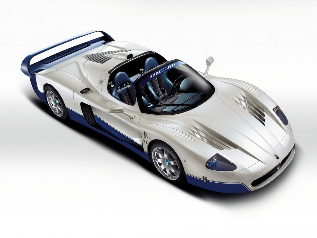 Five Cars For Your Garage, what may they be? Maserati-mc12-grande
