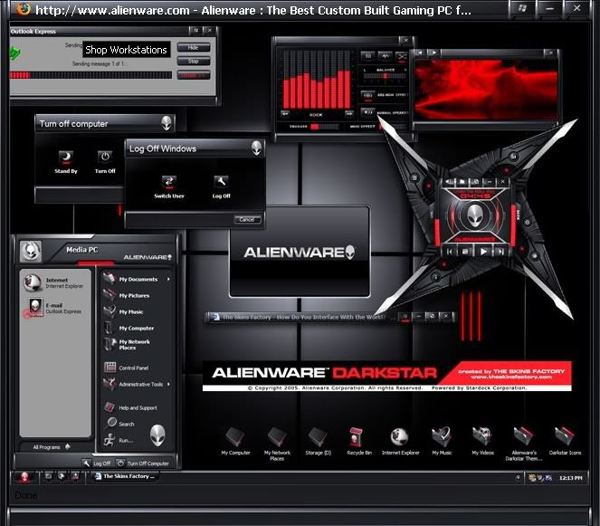 PIMP YOUR PC THEMES...... By Alienware Darkstar
