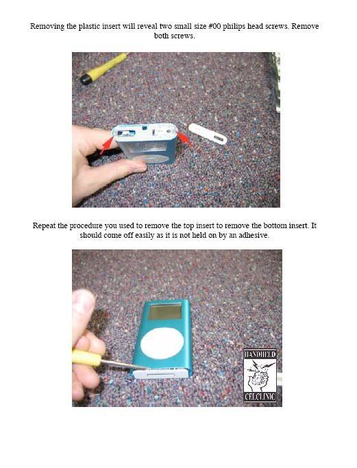 COMPLETE GUIDE and DISMANTLE of iPOD Mini Mini2