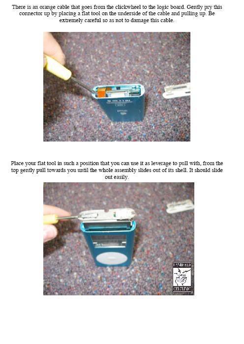 COMPLETE GUIDE and DISMANTLE of iPOD Mini Mini3