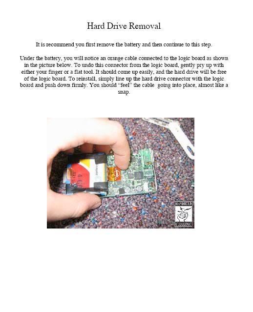 COMPLETE GUIDE and DISMANTLE of iPOD Mini Mini6