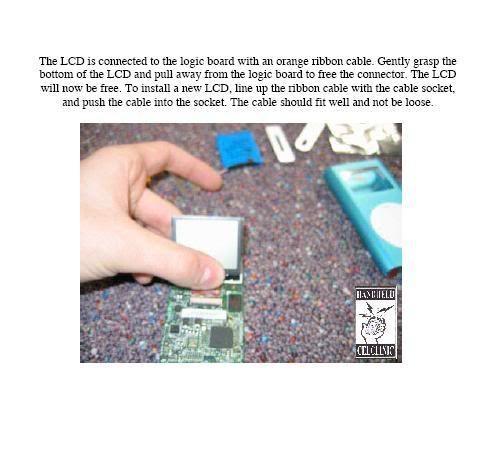 COMPLETE GUIDE and DISMANTLE of iPOD Mini Mini9