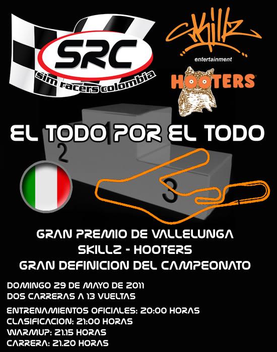 Confirmar Asistencia GP de Vallelunga PORTADAvallelunga