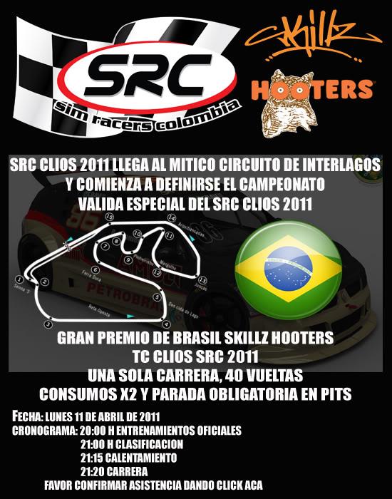 Confirmar Asistencia GP de Brasil Portadabrasil