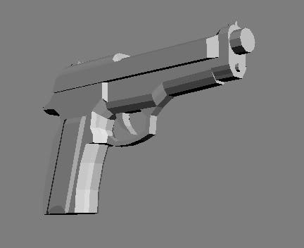 Models - Environment/Weapons/Characters Beretta92FS9mm-2