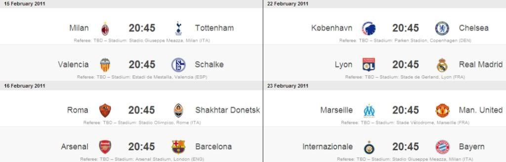 Copa Internacional- Uefa Champions League (UCL) Parte II 8voschampions