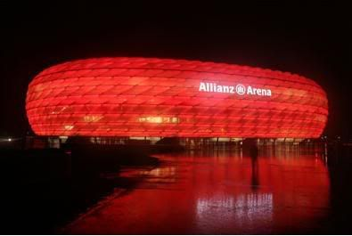 Estadio Allianz Arena, Alemania ALLIANZcut